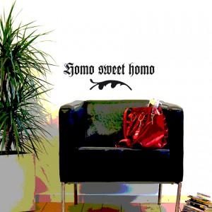 Homo Sweet Homo